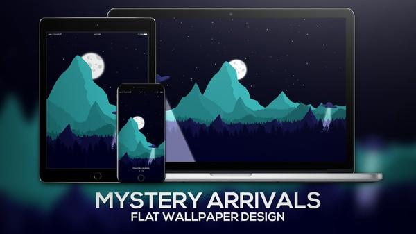 """Mystery Arrivals"" | Wallpaper"