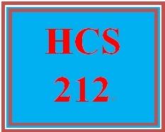 HCS 212 Week 2 Health Care Terms Worksheet