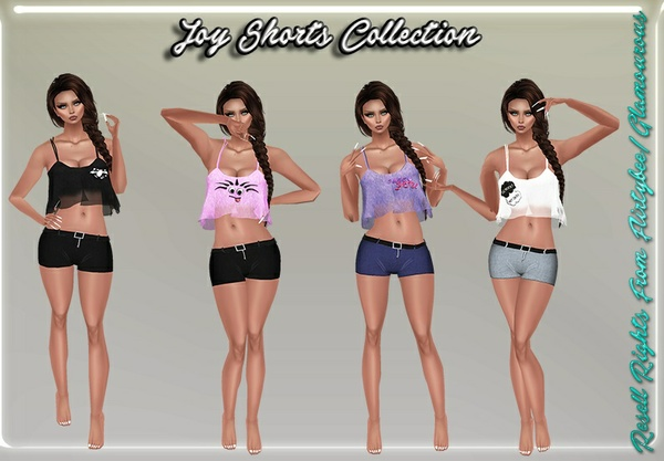 Joy Shorts Collection Catty Only!!!