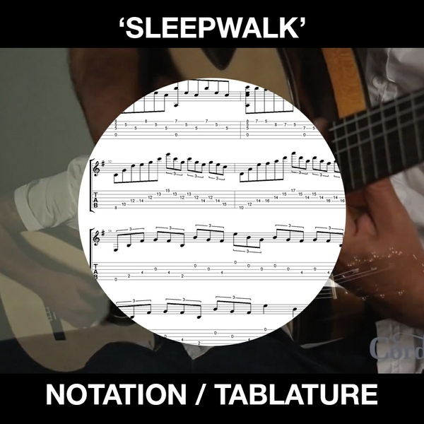 SLEEPWALK - Solo Guitar - Ben Woods