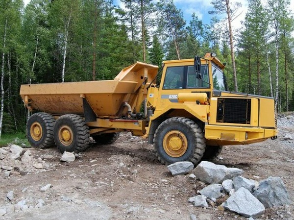 VOLVO A20C ARTICULATED DUMP TRUCK SERVICE REPAIR MANUAL - DOWNLOAD