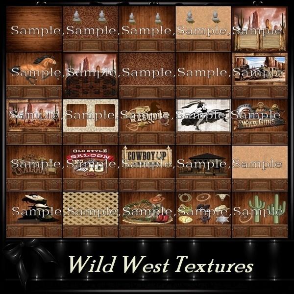 Wild West File 52 Textures