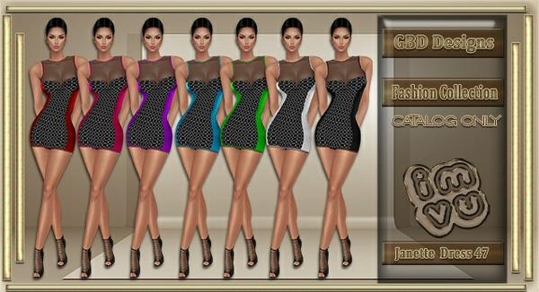 Janette Dress CATALOG ONLY