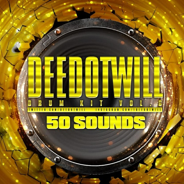 Deedotwill Drum Kit Vol. 6
