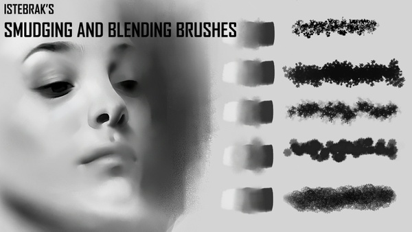 Istebrak's Smudging Brushes