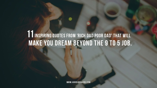 Inspiring Quotes Wallpapers Set -  From the Book: Rich Dad Poor Dad