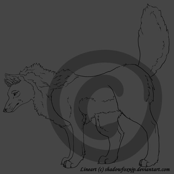 Blank wolf base