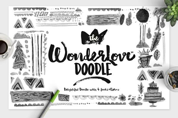 Wonderlove typeface