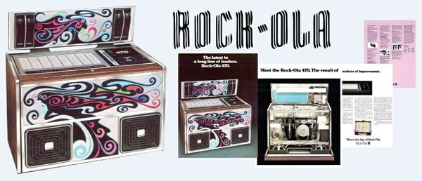 Rock-Ola  470  (1977)   4 Page Brochure