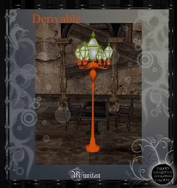 Derivable Street lamp