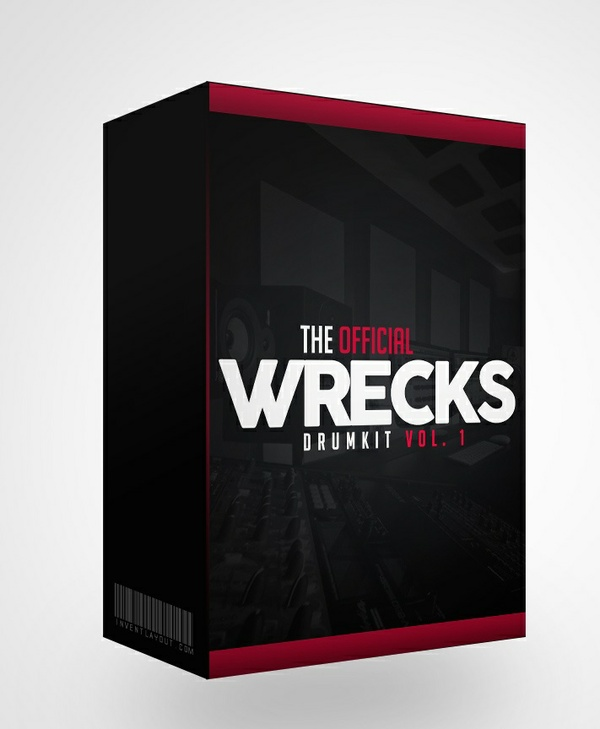 The Wrecks Drum Kit vol 1