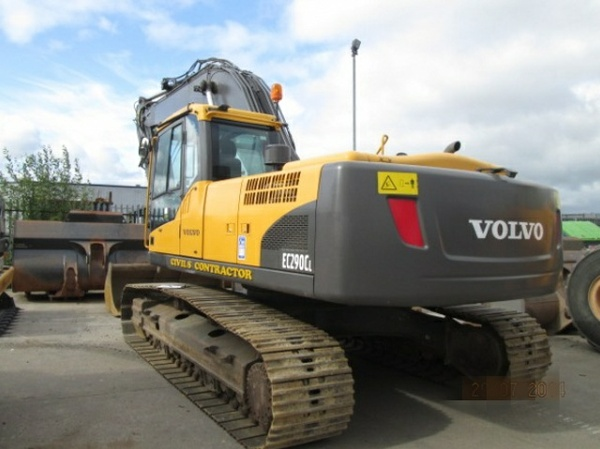 VOLVO EC290C L (EC290CL) EXCAVATOR SERVICE REPAIR MANUAL - DOWNLOAD