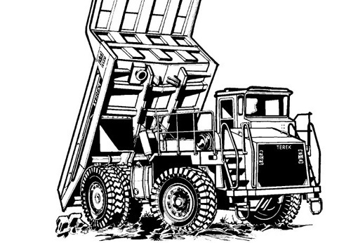 Terex 3335 Off-Highway Truck Service Repair Manual