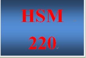 HSM 220 Week 2 Environmental Factors