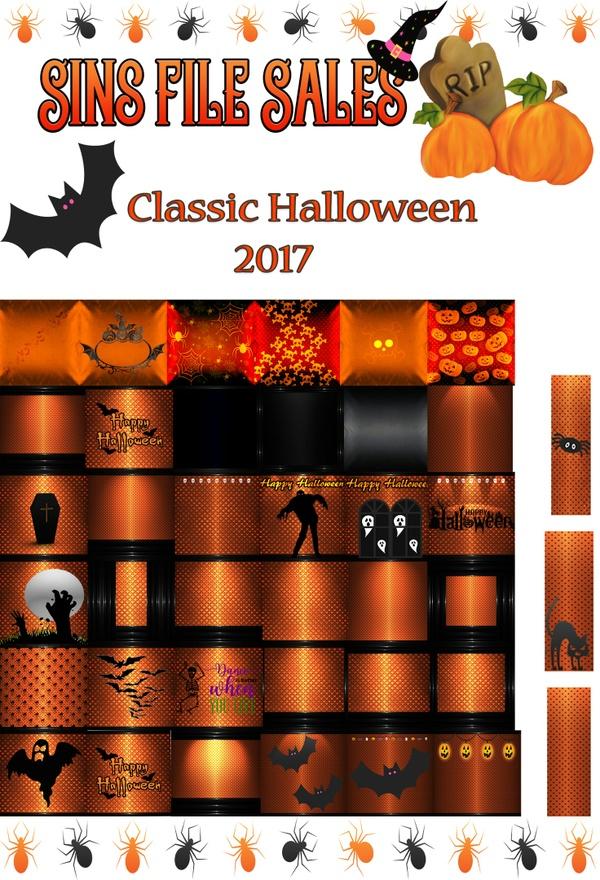Classic Halloween Textures 2017