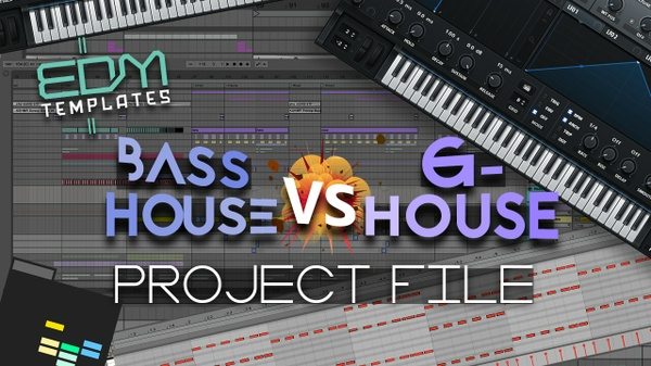 Ableton Live Bass House - G-House Template 17.12