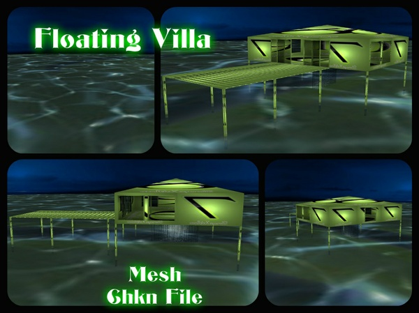 Floating Villa (Mesh)