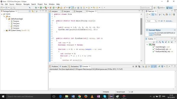 CS210 Algorithms & Data Structures 1