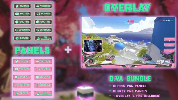 D.VA BUNDLE - PANELS + OVERLAY