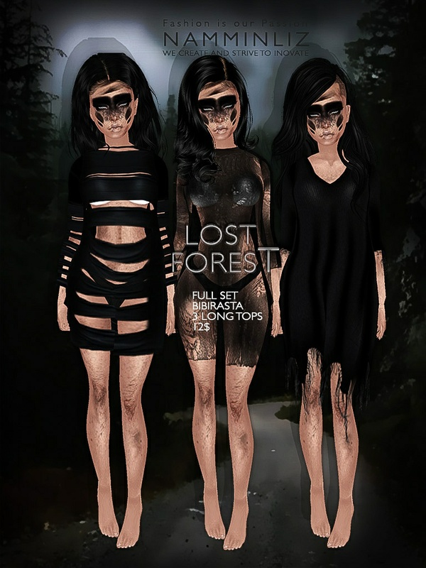 Lost forest full set imvu texture JPG 4 Bibirasta long top - NAMMINLIZfilesale
