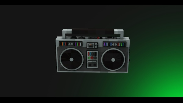 Minecraft - Rig Radio - [Cinema 4D]