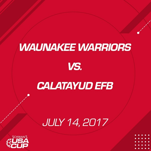 Girls U19 - July 14, 2017 - Waunakee Warriors vs Calatayud EFB