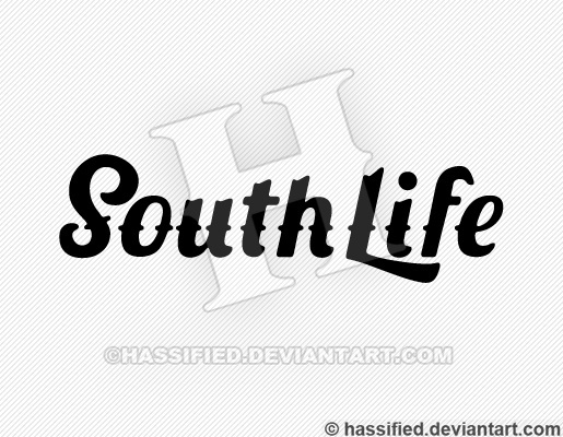 South Life - printable, vector, svg, art