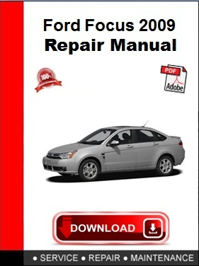 Ford Focus 2009 Repair Manual