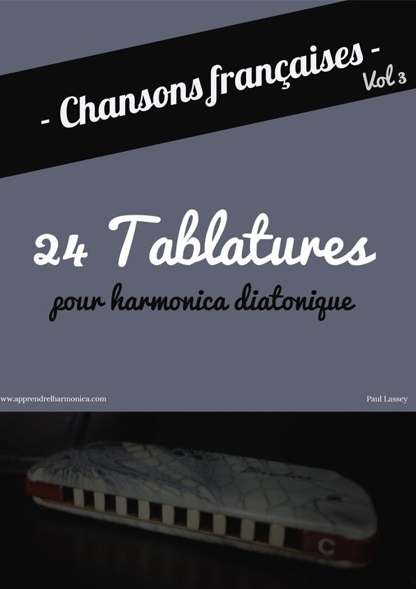 Recueil de chansons françaises - Volume 3 - Harmonica diatonique