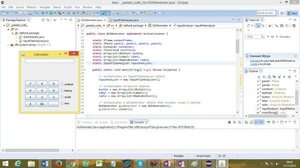 Program that parse, using recursive descent-Calculator