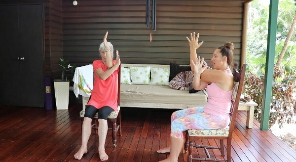 Elderly Yoga - with Carrie-Anne Fields - 40min