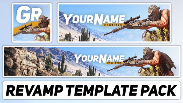 Ghost Recon Wildlands Revamp Pack | Free Photoshop Template [YouTube Banner & Avatar]