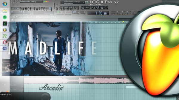 Dance Cartel - Madlife (REMAKE FL STUDIO)