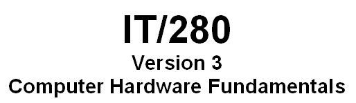 IT280 Week 9 Final Project - Computer Maintenance and Training Manual