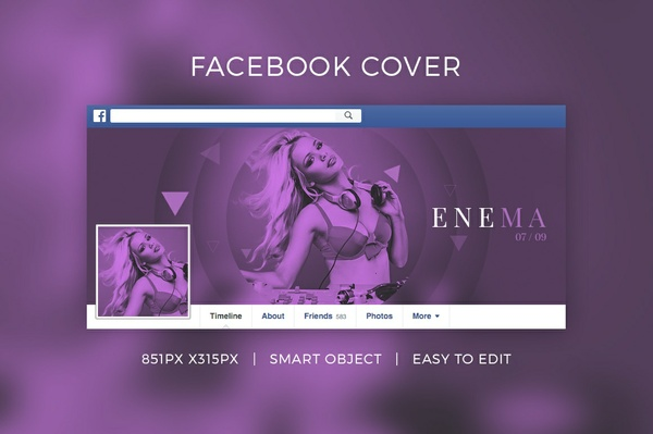 Dj Facebook Cover V3