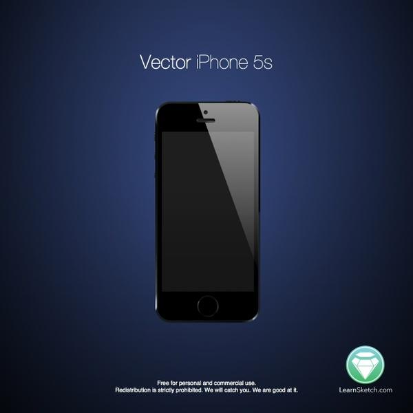 Vector iPhone 5s