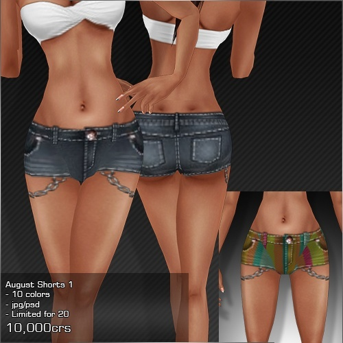 2013 Aug Shorts # 1