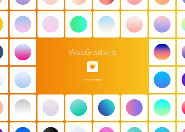 Web Gradients for Sketch
