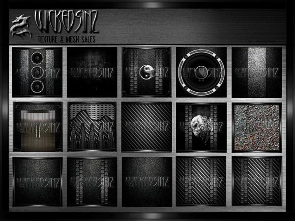 Black on Black - 57 Textures - $9.00