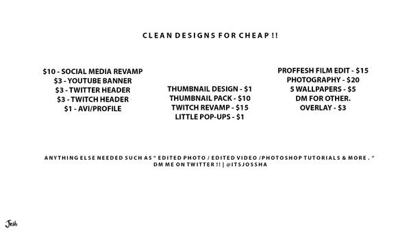All design prices! $$