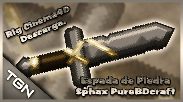Espada de Piedra Sphax PureBDcraft