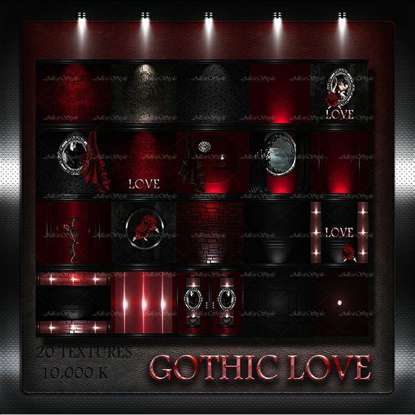 "IMVU TEXTURES FILE ""GOTHIC LOVE"""