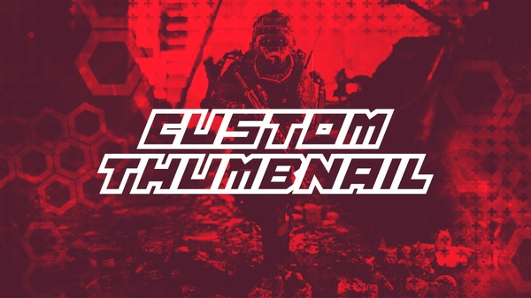 CUSTOM YOUTUBE THUMBNAIL!