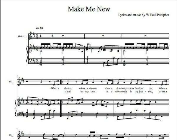 Make Me New
