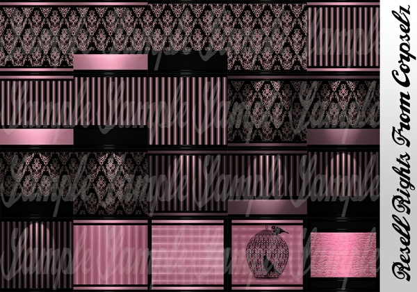 Pink Goth Textures Catty Only!!!!!