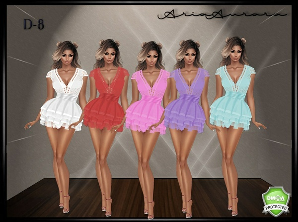 D-8 DRESSES, CHATTY ONLY!