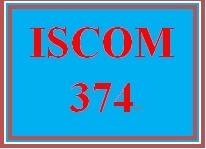ISCOM 374 Week 1 Consider Technology