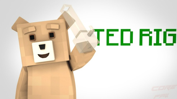 Ted Rig Cinema 4D Minecraft