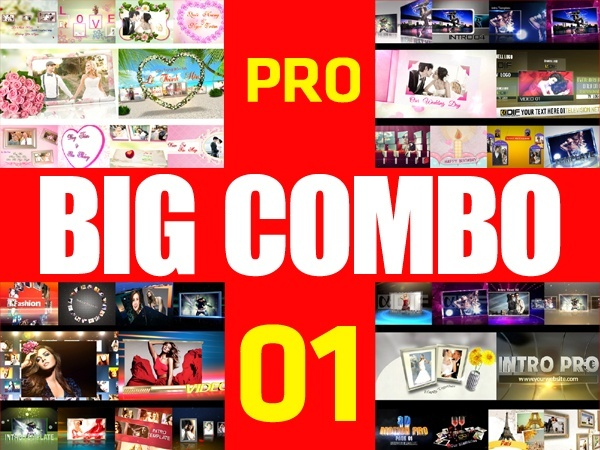 BIG COMBO PACK 01 - 40 BLUFFTITLER TEMPLATES PRO