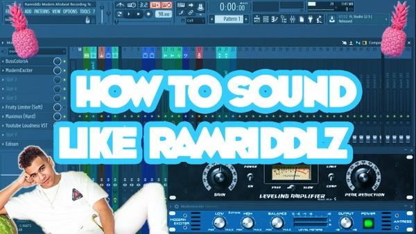 Ramriddlz (Modern Afrobeat Recording  Template